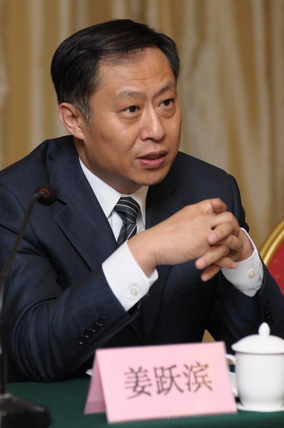 天健公司总裁姜跃滨