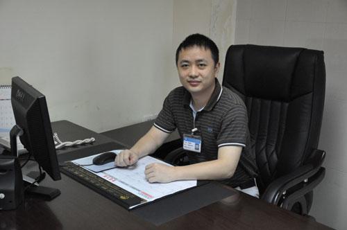 广州中医药大学第一附属医院网络管理科科长贺嘉嘉先生