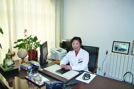 青岛阜外心血管病医院党委书记、执行院长杨瑛。