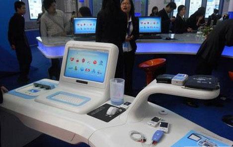 高交会上展示数字化医疗产品