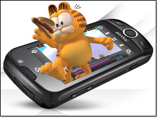能够投影全息影像的3d手机和