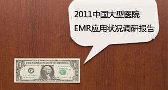 2011中国大型医院电子病历应用状况调研报告