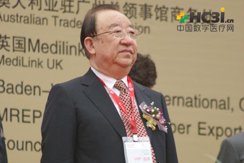 中国医学装备协会理事长朱庆生出席开幕式