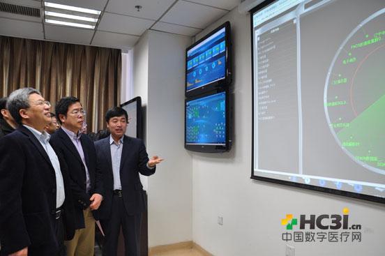 罗智博向与会专家介绍医院的信息化安全管理工作