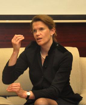 西门子医疗医学临床产品集团首席执行官 Britta Fünfstück女士