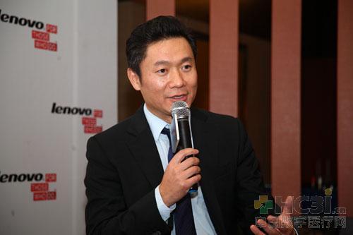联想集团副总裁、中国区暨云服务业务集团CMO 魏江雷